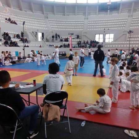 TOURNOI JUDO FSGT PALAIS DES SPORTS à BORDEAUX du 28 AVRIL 2018